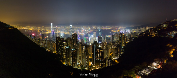 香港夜景@太平山顶
