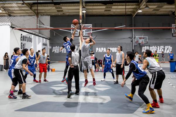 腾讯党委首届篮球赛决赛