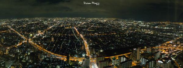 大阪夜景@HARUKAS 展望台