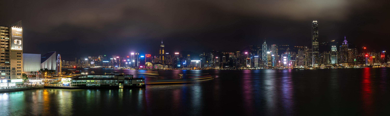 维港夜景@马可波罗酒店停车场