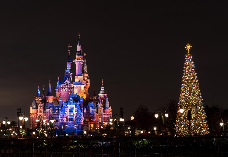 上海迪士尼跨年夜